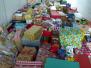 Abholen der 194 Klafelder Weihnachtspäckchen durch die Siegener Tafel 14.12.2015