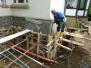 """Bauarbeiten """"mittendrin"""" und Gemeindehaus Tal Juli - September 2015"""