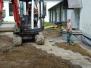 GZ Wenscht, 1. Bauabschnitt im Juli und August 2017