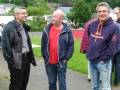 Pfr. Karl-Hans Köhle, Kirchmeister Hartmut Heinbach und Pfr. Dr. Martin Klein