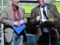 Pastor Volker Dickel (FeG Weidenau) und Pastor Werner Jung (FeG Geisweid)