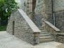 Treppenanlage vor der Talkirche: Die Sanierung ist abgeschlossen! Ende Mai 2019
