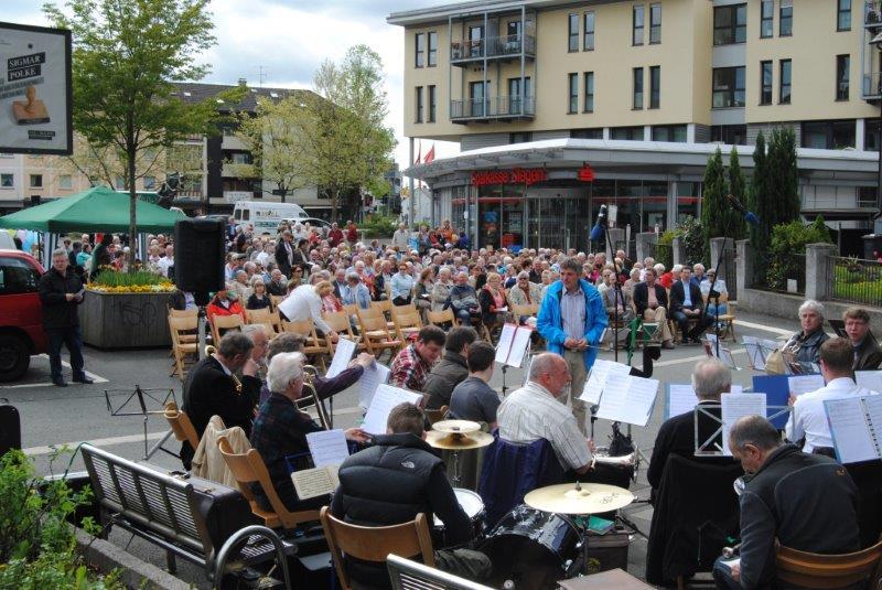 Open-Air-Gottesdienst 2013 Klafelder Markt Himmelfahrt