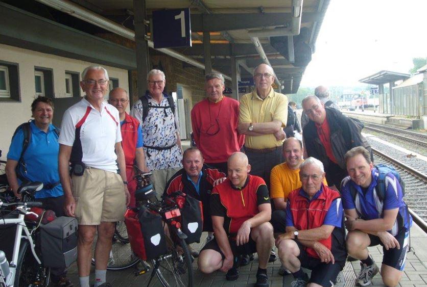 Radtour Männer 2014