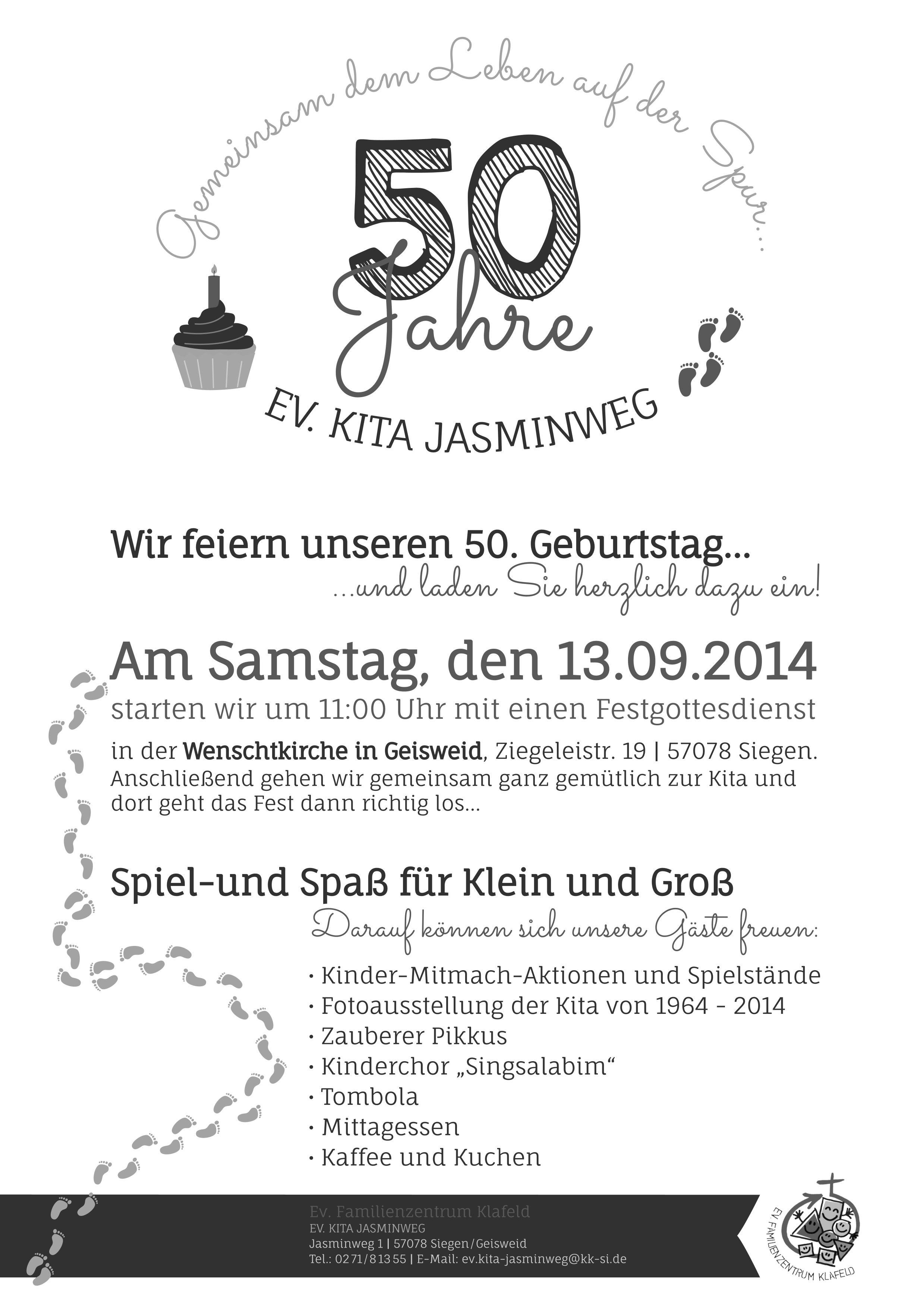 Jubiläum KiTa Jasminweg 2014