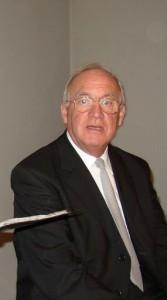 Günter Drucks am 9. Januar 2005 in der Wenschtkirche