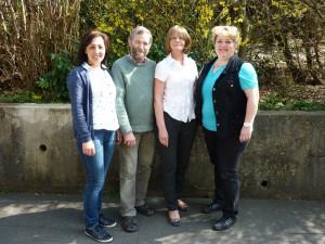 Vorstand Statt Altenheim von links: Güldeniz Akgün, Gustav Rinder,  Irmgard Simon (Geschäftsführerin), Irene Wildner (1. Vorsitzende)