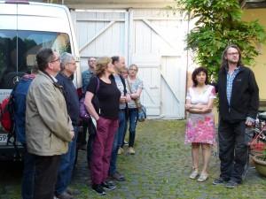 Zu Gast bei Ehepaar Münch in Wiesbaden