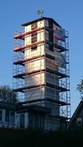 Glockenturm Renovierung Frühjahr 2016