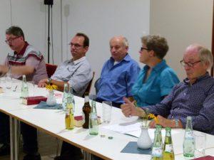 Fünf, die am Treffen teilnahmen