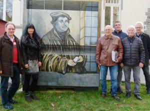 Lutherbildnis: Brandneues Kunstwerk
