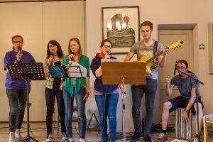 Jugendband: Modernes Liedgut