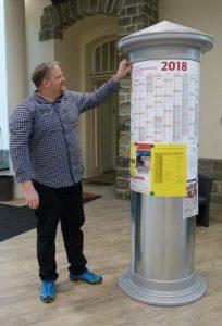 """""""mittendrin"""": Vorm neuen Terminkalender"""
